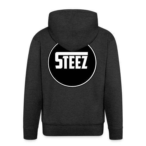 Steez t-Shirt black - Mannenjack Premium met capuchon