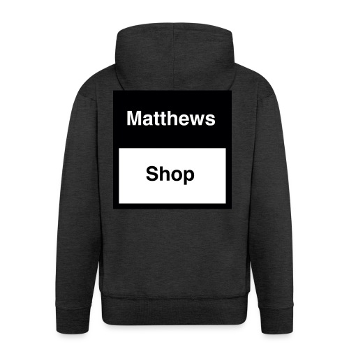 Matthews Shop T-shirt - Mannenjack Premium met capuchon
