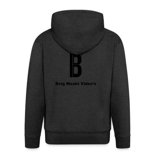 Belg Maakt Video's t-shirt - Mannenjack Premium met capuchon