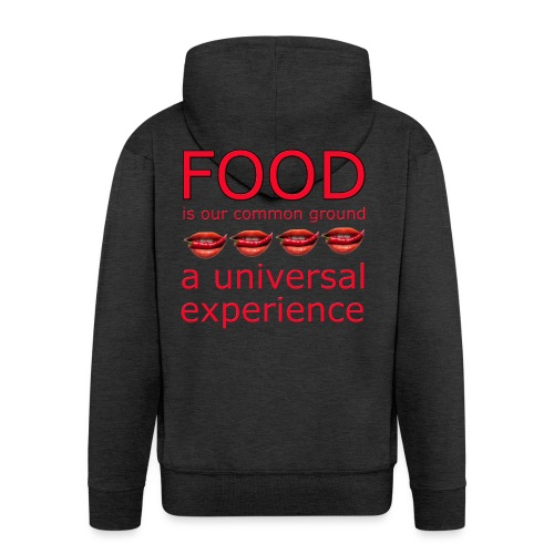Food is our common ground, a universal experience - Mannenjack Premium met capuchon