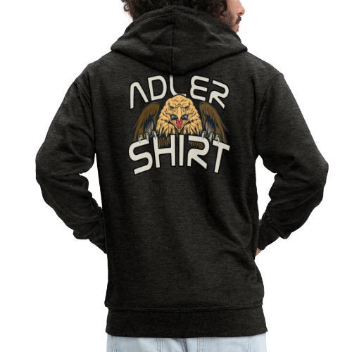 ADLERSHIRT mit Adler - ich bin ein ADLER - Männer Premium Kapuzenjacke