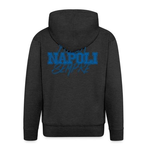 Forza Napoli Sempre - Felpa con zip Premium da uomo