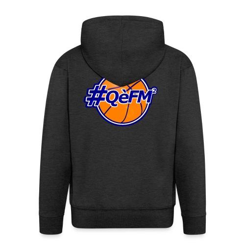 #QèFM2_7 - Felpa con zip Premium da uomo
