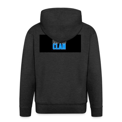 TSHIRT_LOGO - Men's Premium Hooded Jacket