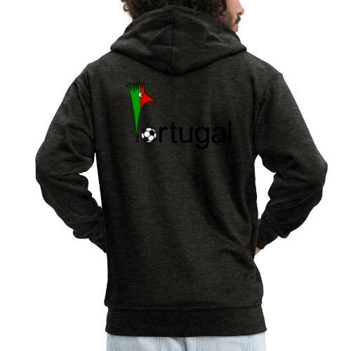 Galoloco Portugal 1 - Männer Premium Kapuzenjacke
