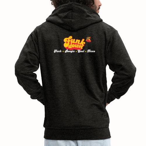 FunkDown Official Merchandise (med genrer) - Herre premium hættejakke