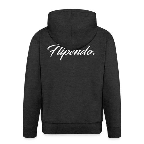 Flipendo. - Mannenjack Premium met capuchon
