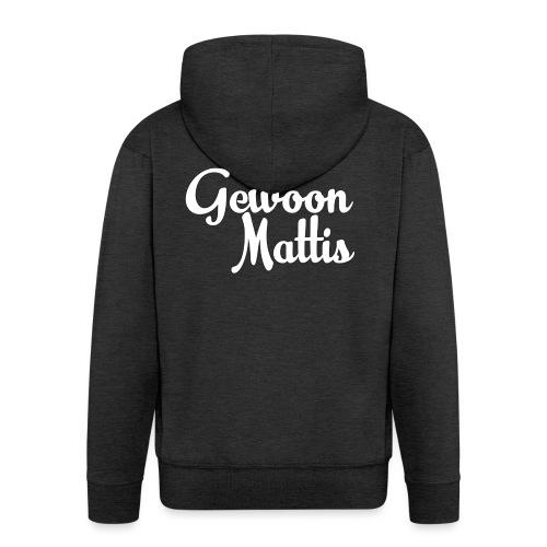 GewoonMattis Shirt Vrouwen - Mannenjack Premium met capuchon