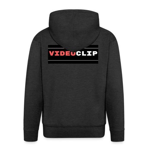 VideoClip-tekst - Mannenjack Premium met capuchon