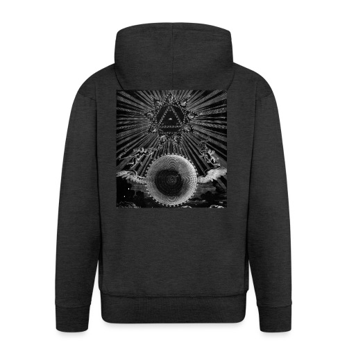 T-Shirt ALCHIMIA - Felpa con zip Premium da uomo