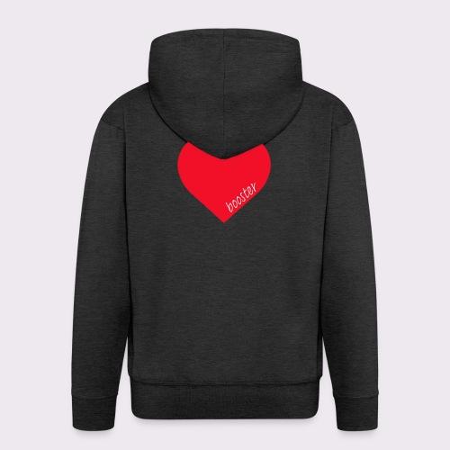 lovebooster - Men's Premium Hooded Jacket