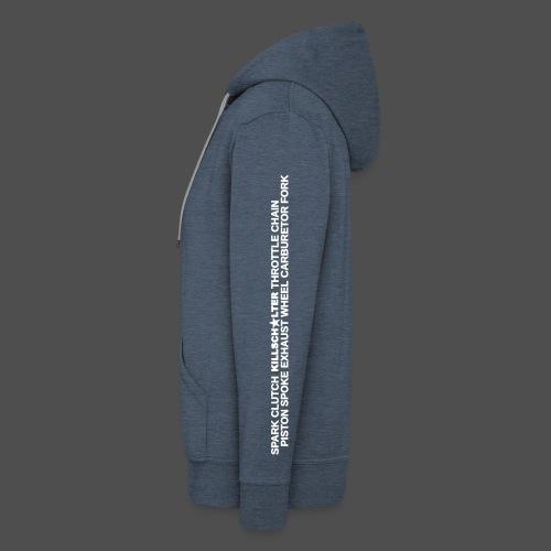 Motoparts ONE 9MP11 - Men's Premium Hooded Jacket