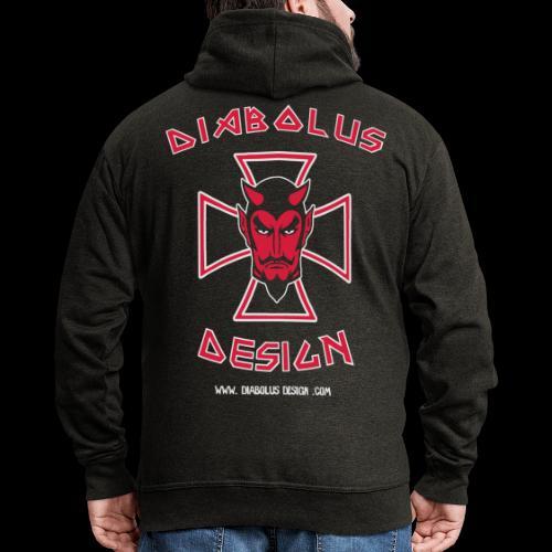 Diabolus Cross - Vector - Men's Premium Hooded Jacket
