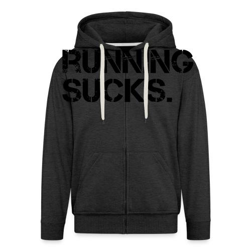 Running Sucks - Männer Premium Kapuzenjacke