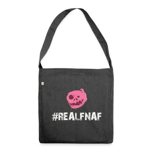 Bubblegummonsters #RealFnaf WHT - Shoulder Bag made from recycled material