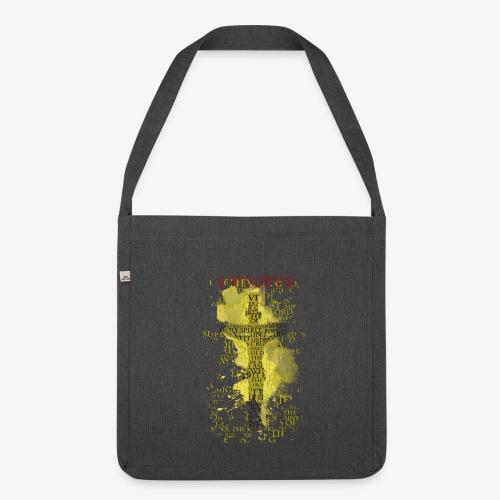 I believe / wierzę (yellow-żółty) - Torba na ramię z materiału recyklingowego