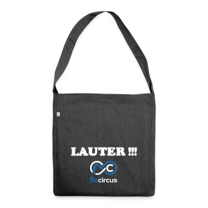 Modell Thomas ;) - Schultertasche aus Recycling-Material