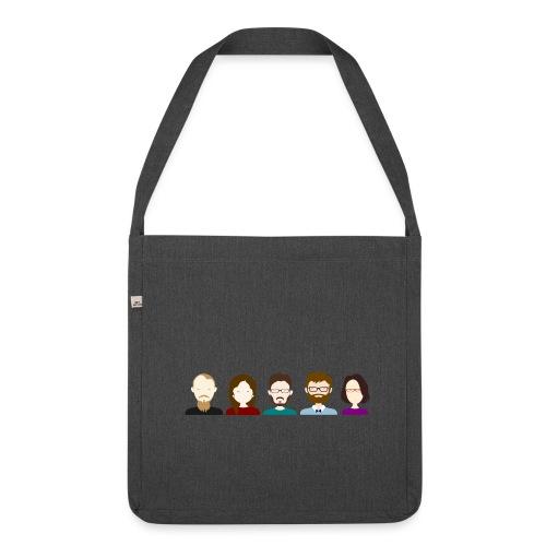 Fünf Freunde müsst ihr sein - Schultertasche aus Recycling-Material