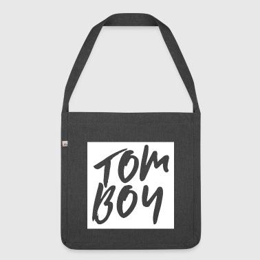 Tomboy | Queer LGBT projekt - Torba na ramię z materiału recyklingowego