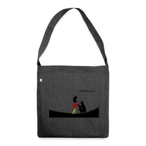 Married - Schultertasche aus Recycling-Material