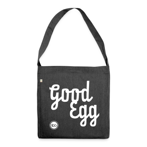 'Good Egg' - Shoulder Bag made from recycled material