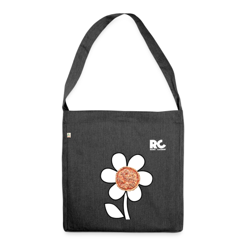 Pizzaflower Edition - Schultertasche aus Recycling-Material