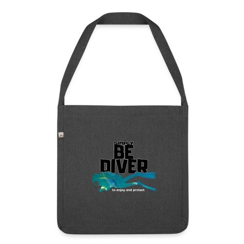 Be Diver 2 - Soutien à Sea Shepherd France - Sac bandoulière 100 % recyclé