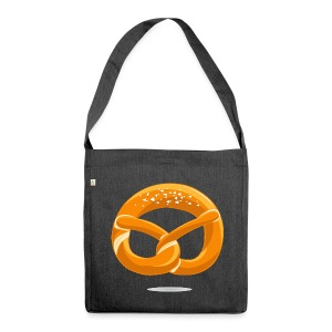 Snackers Logo - Schultertasche aus Recycling-Material