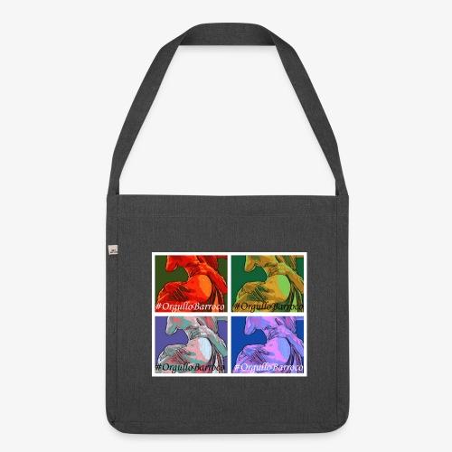 #OrgulloBarroco a lo Warhol - Bandolera de material reciclado