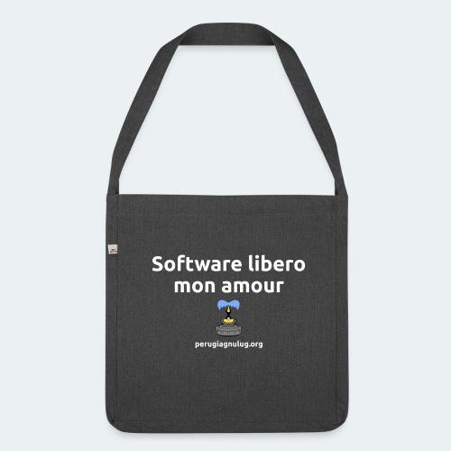 Software libero mon amour - Borsa in materiale riciclato