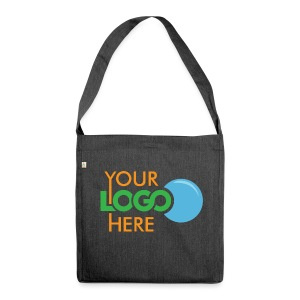 Your Logo Here - Shoulder Bag made from recycled material
