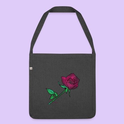 Diseño rose - Bandolera de material reciclado