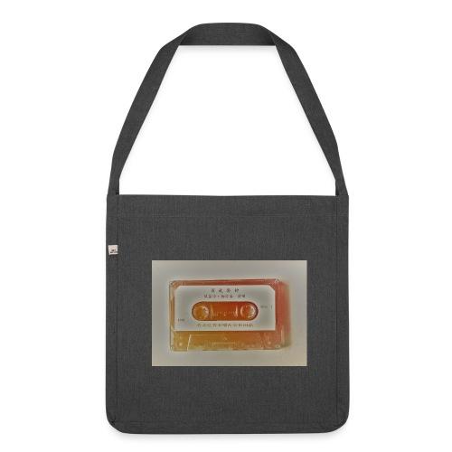 Kassette - Schultertasche aus Recycling-Material