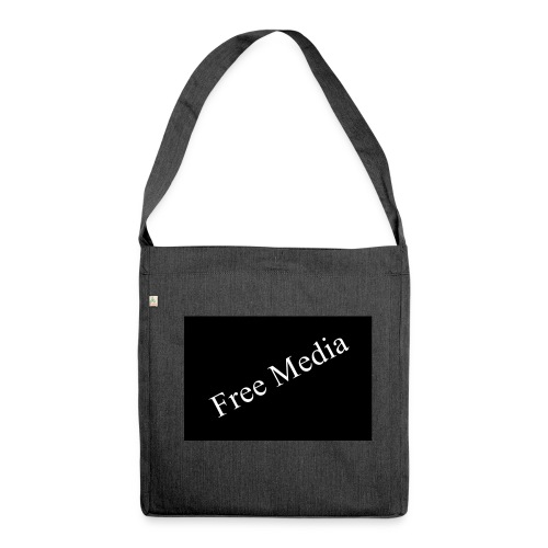 Free Media - Schultertasche aus Recycling-Material