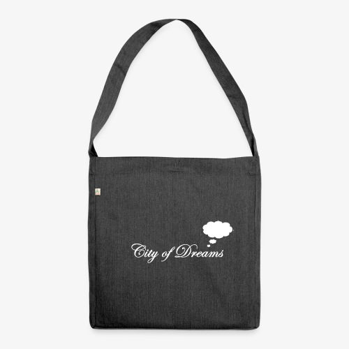 City of Dreams - Schultertasche aus Recycling-Material