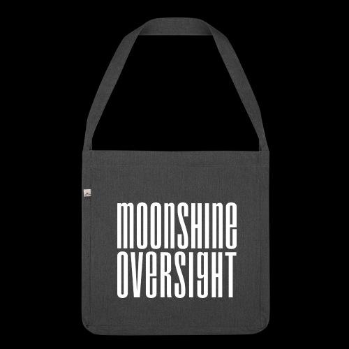 Moonshine Oversight blanc - Sac bandoulière 100 % recyclé