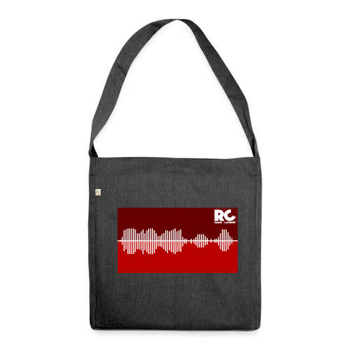 Amplitude Edition - Schultertasche aus Recycling-Material