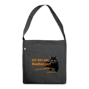 Statement Baalberge - Schultertasche aus Recycling-Material