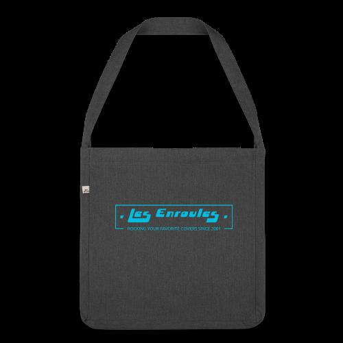 Rocking since 2001 - Blue - Sac bandoulière 100 % recyclé