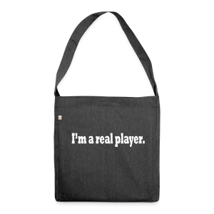 PLAYER - Shoulder Bag made from recycled material