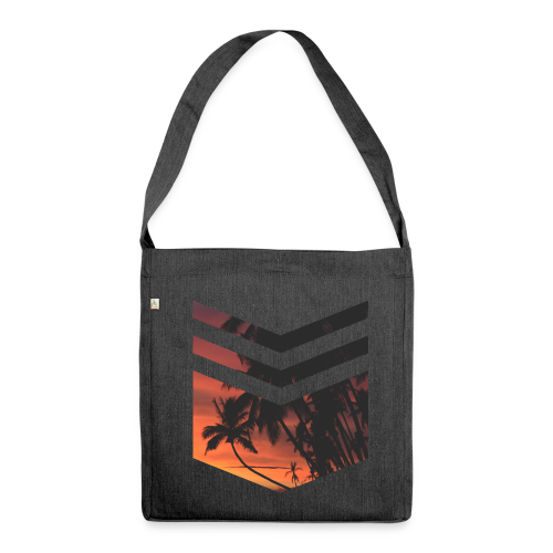 Palm Beach Triangle - Schultertasche aus Recycling-Material