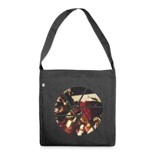Die Rose - Schultertasche aus Recycling-Material