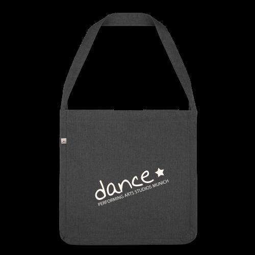 Dance *weiß* - Schultertasche aus Recycling-Material