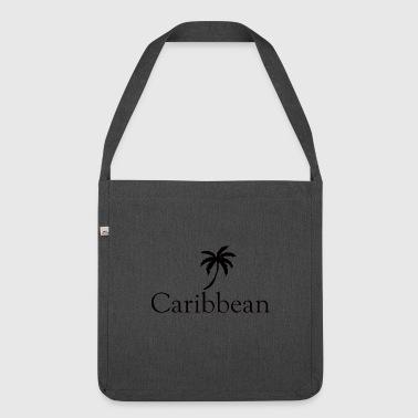 Riva del mare dei Caraibi - Borsa in materiale riciclato