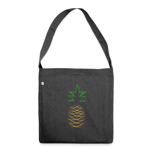 Yay For Today Ananas - Schultertasche aus Recycling-Material