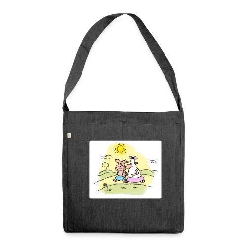 Sunny Fanny - Schultertasche aus Recycling-Material
