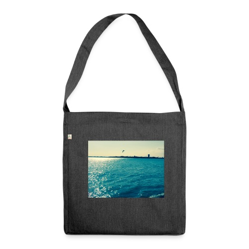 ocean life - Shoulder Bag made from recycled material