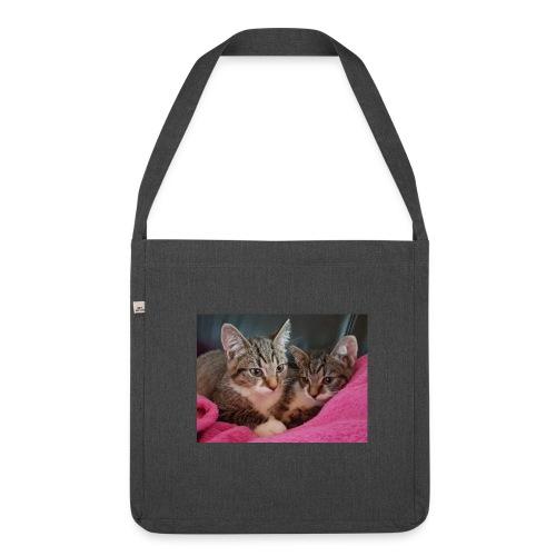 Kitten - Schultertasche aus Recycling-Material