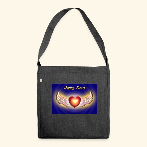 Flying Heart - Schultertasche aus Recycling-Material