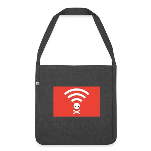 Notspy.de - Dein sicheres Internet. - Schultertasche aus Recycling-Material